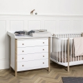 Komoda Oliver Furniture Wood Collection z przewijakiem