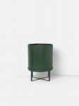 Doniczka BAU Ferm Living Dark Green Large