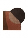 Dywan Tufted Red Brown  140x180 Ferm Living