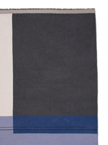 Blue Colour Block Throw Ferm Living ostatnie sztuki!