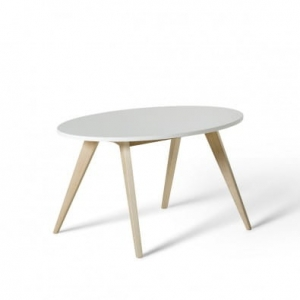 PingPong stolik Wood Collection  Oliver Furniture white / oak