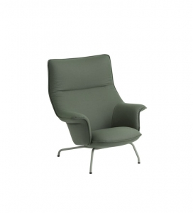Fotel Doze tkanina Forest Nap 952 / dusty green Muuto