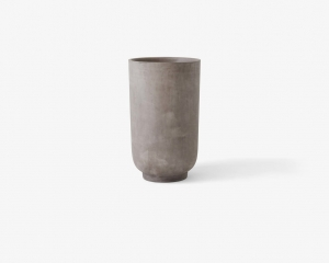 Donica Planter SC45 Ø:40cm Silver grey &Tradition