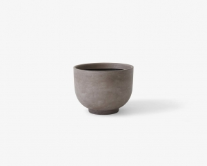 Donica Planter SC43 Ø:60cm Silver grey &Tradition