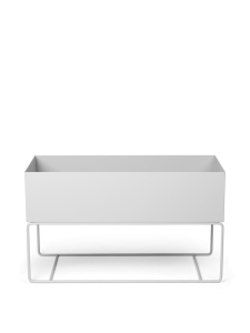 Doniczka plant box large light grey Ferm Living