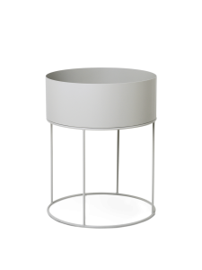 Doniczka Plant Box Round FERM LIVING Light Grey