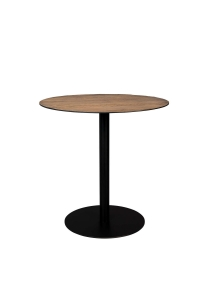 BISTRO TABLE BRAZA ROUND BROWN Dutchbone