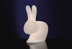 RABBIT LAMP SMALL INDOOR PLUG V.1 QeeBoo