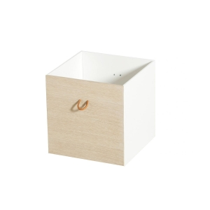 Szuflady Wood 3 sztuki white/oak Oliver Furniture