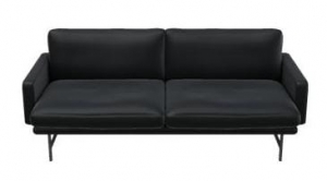 Sofa LISSONI PL112 FRITZ HANSEN ELEGANCE LEATHER