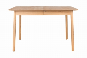 TABLE GLIMPS 120/162X80 NATURAL	- ZUIVER