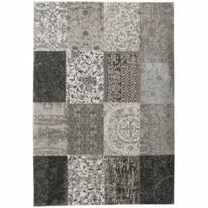 Dywan Louis de Poortere Vintage Patchwork black and white