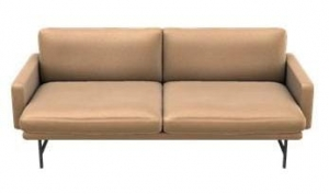 Sofa LISSONI PL112 FRITZ HANSEN RUSTIC LEATHER