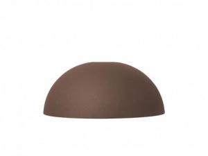 Klosz do Lampy Kopuła DOME Red Brown Ferm Living