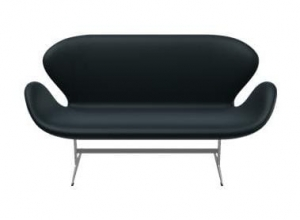 Sofa SWAN 3321 FRITZ HANSEN tapicerka BASIC LEATHER