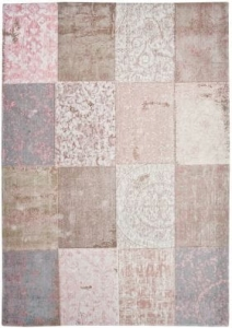 Dywan Vintage Very Patchwork Light Pink Louis de Poortere