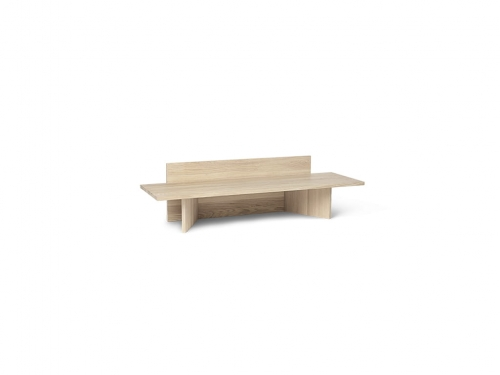 Ławka Oblique Natural Oak Ferm Living